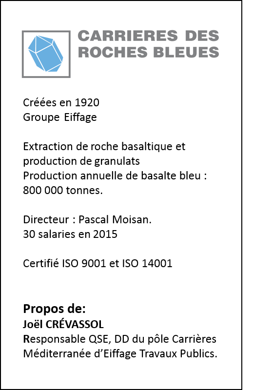 Roches bleues ISO50001
