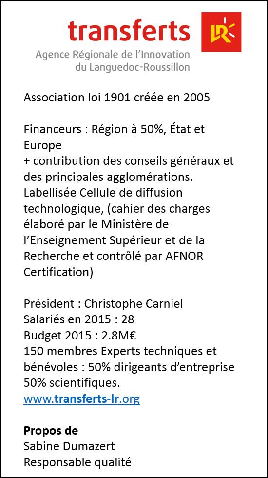 ISO 9001 Transferts LR