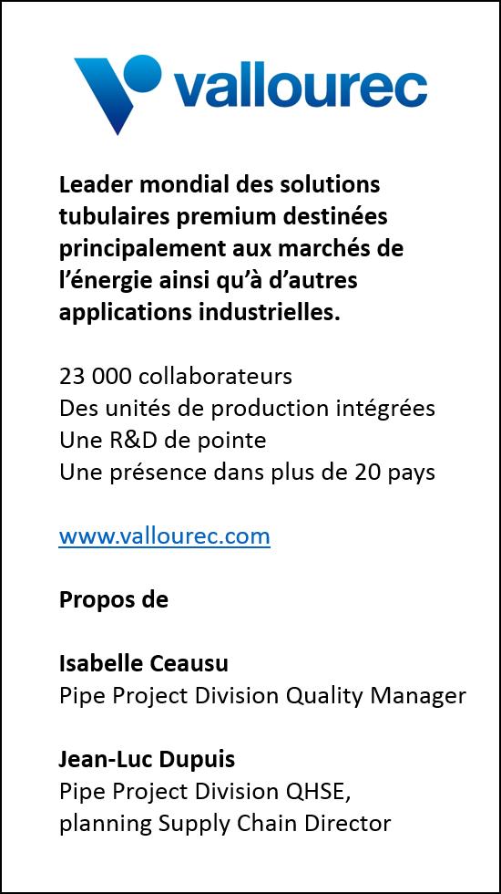 ISO 215000 Vallourec