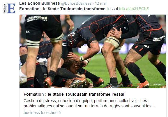Les Echos Stade Toulousain NF Service