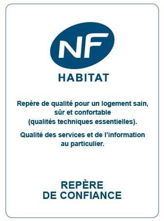 Nouveau logo NF Habitat