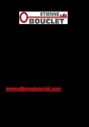 Fiche d'identité Etienne Bouclet