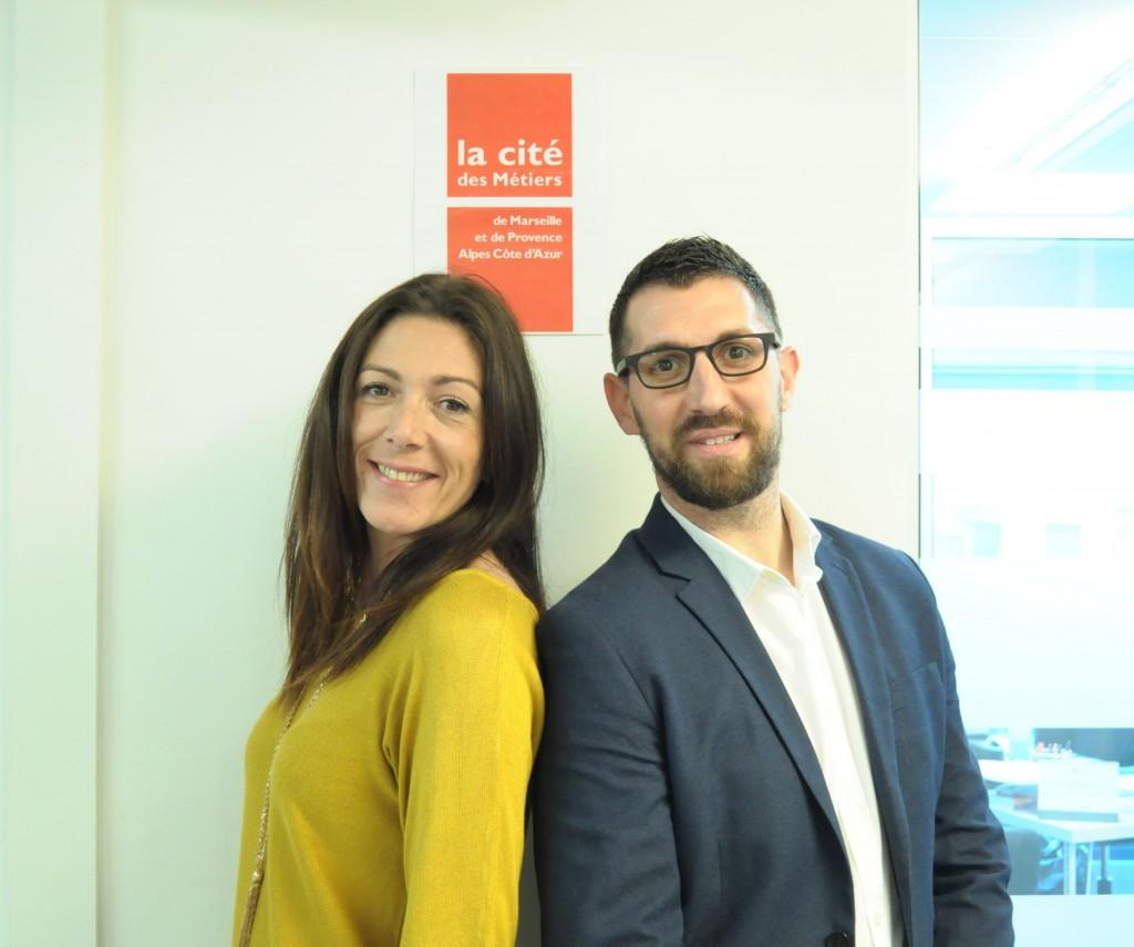 Stéphanie Chauvet, directrice, et Sébastien Garrigues, responsable opérationnel. ©DR